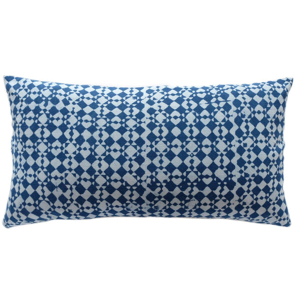 Delphi Indigo Pillow - ALLEM STUDIO