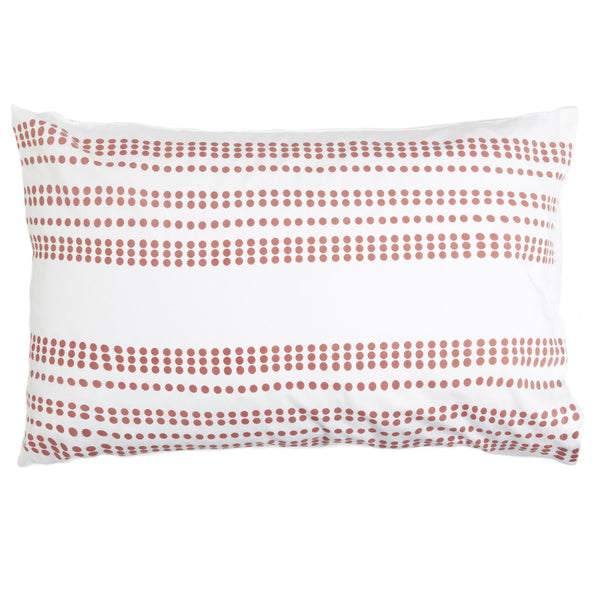 Granada Salmon Pillow Cases (Set of 2)