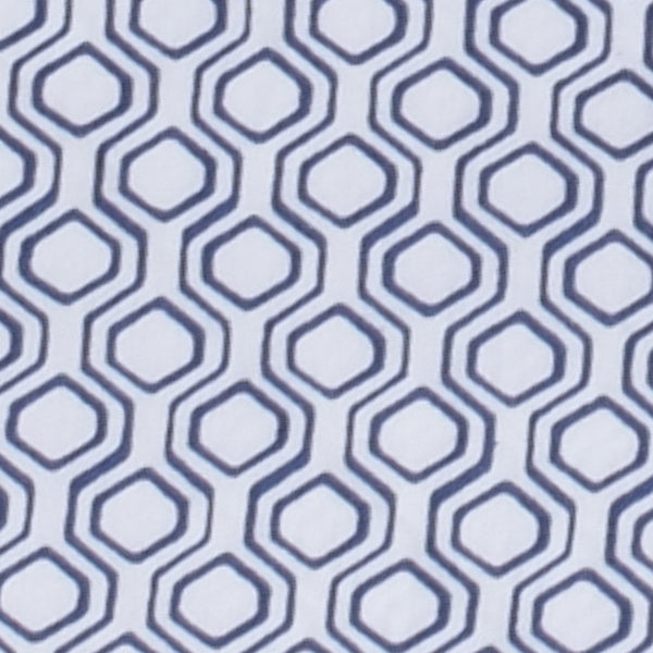 Honeycomb Navy Bedsheets