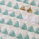 Audrey Aqua Pillow - ALLEM STUDIO