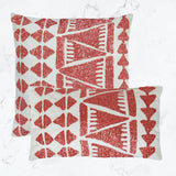 Lupita Orange Pillow (20x20 & 12x22)