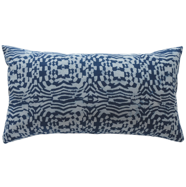 Modhera Indigo Pillow