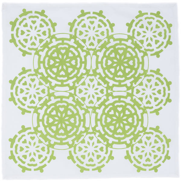Mosaic Green Napkin (set of 4)