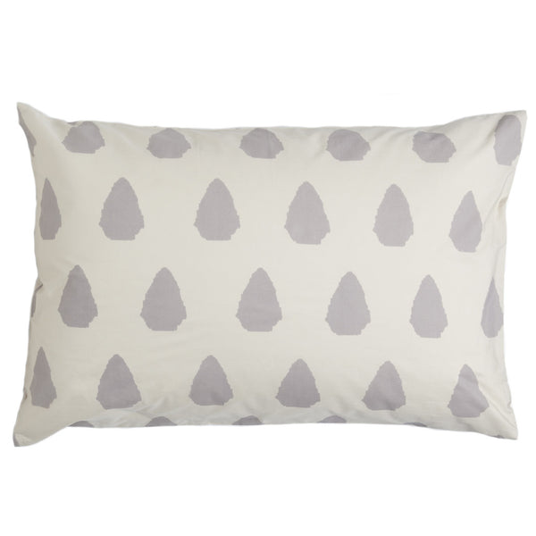 Seville Gray Pillow Cases (Set of 2)