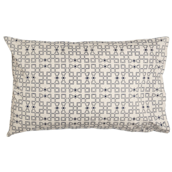 Seville Navy Pillow Cases (Set of 2)