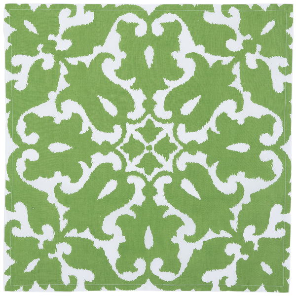 Sindoor Green Napkin (set of 4)