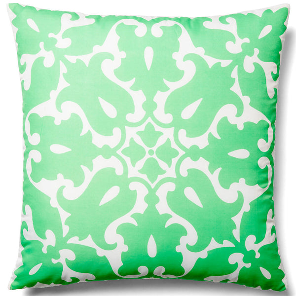 Sindoor Green Outdoor Pillow - ALLEM STUDIO