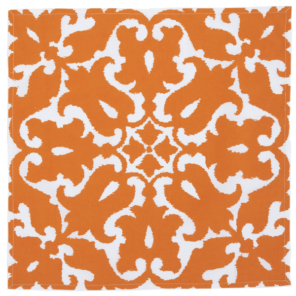 Sindoor Orange Napkin (set of 4)