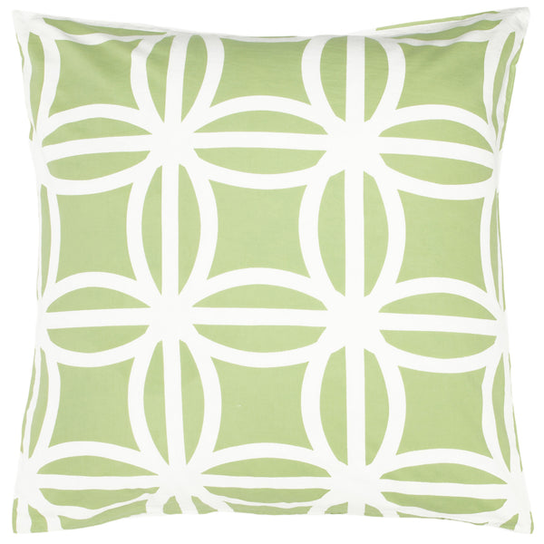 Tara Lime Euroshams (Set of 2) - ALLEM STUDIO