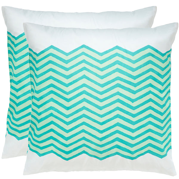 Waves Sky Outdoor Pillows (Pair)