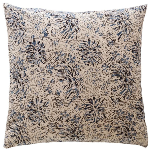 Chrysanthemum Kalamkari Pillow - ALLEM STUDIO