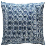 Corfu Indigo Pillow - ALLEM STUDIO