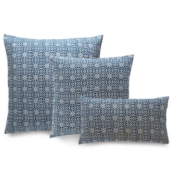 Corfu Indigo Pillow