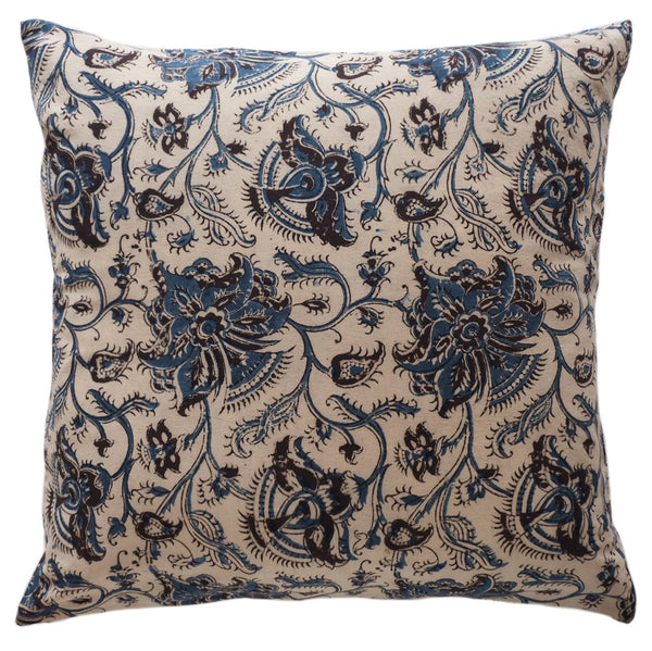 Pomegranate Kalamkari Pillow - ALLEM STUDIO