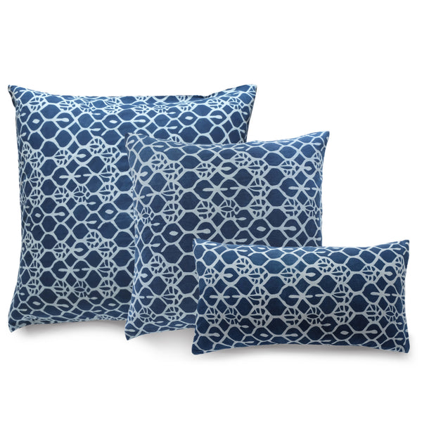 Sparta Indigo Pillow