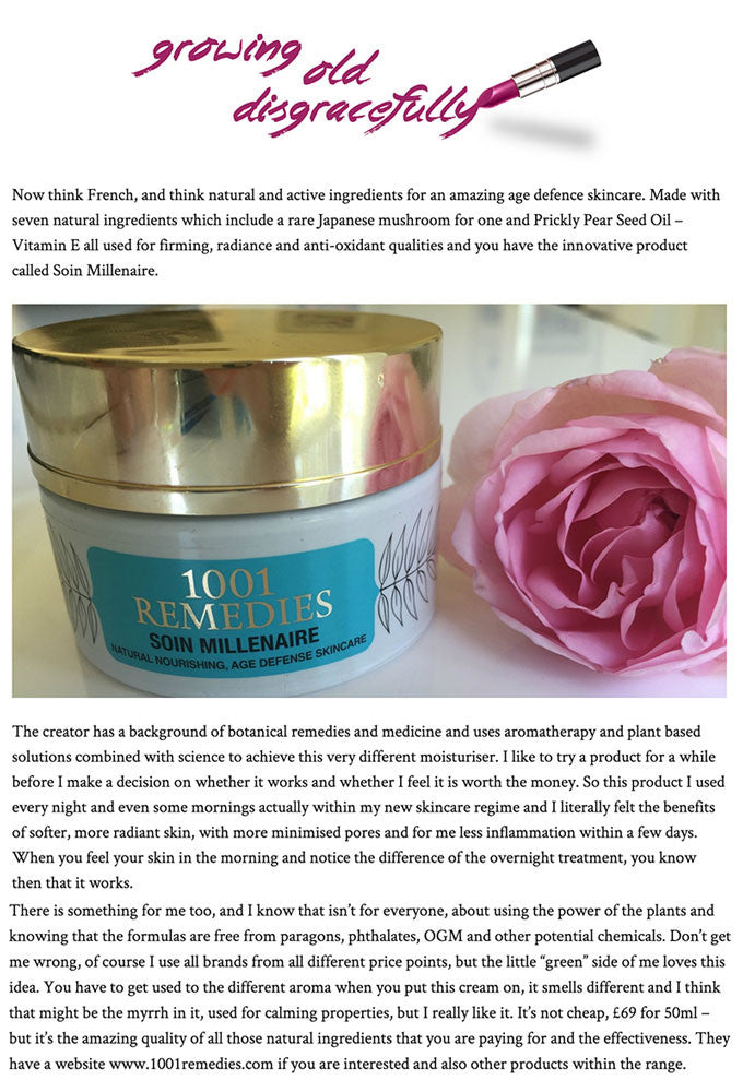 soin millionaire skincare review