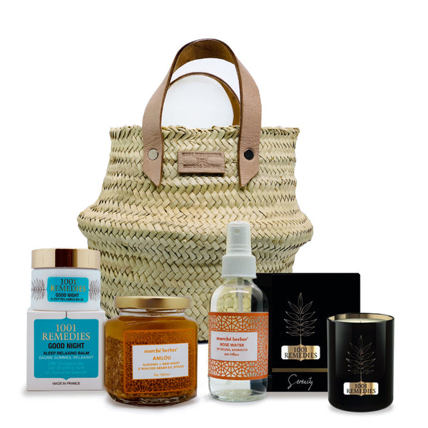 Gift Basket Oriental Flavours by 1001 Remedies x Marche Berber - 1001 Remedies