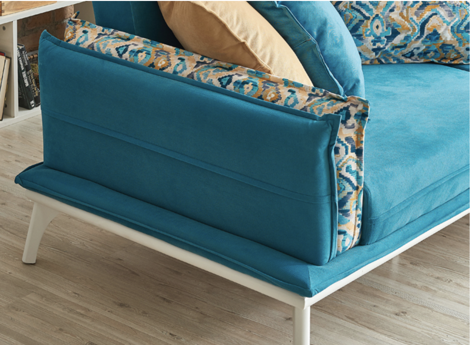 Fantastik | Modern Light Blue Sectional Sofa | Sectional Sofa Bed