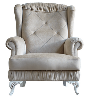 Tugra Elegant Classic Design Arm Chair