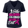 "Special Edition ""She Believed She Could"" Breast Cancer Awareness Runner Shirt"