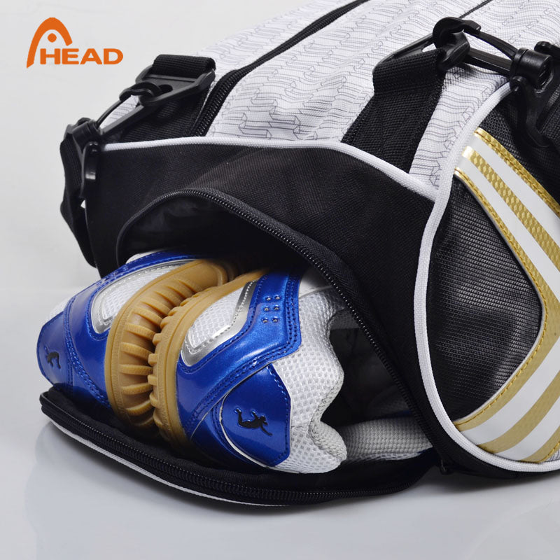 Genuine Head 6 Piece Backup Tennis Bag Backpack