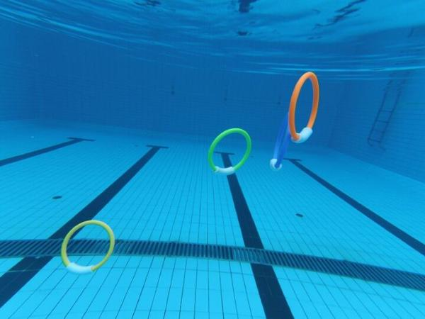 Throwing Swim/Dive Pool Rings 4 Pcs Set