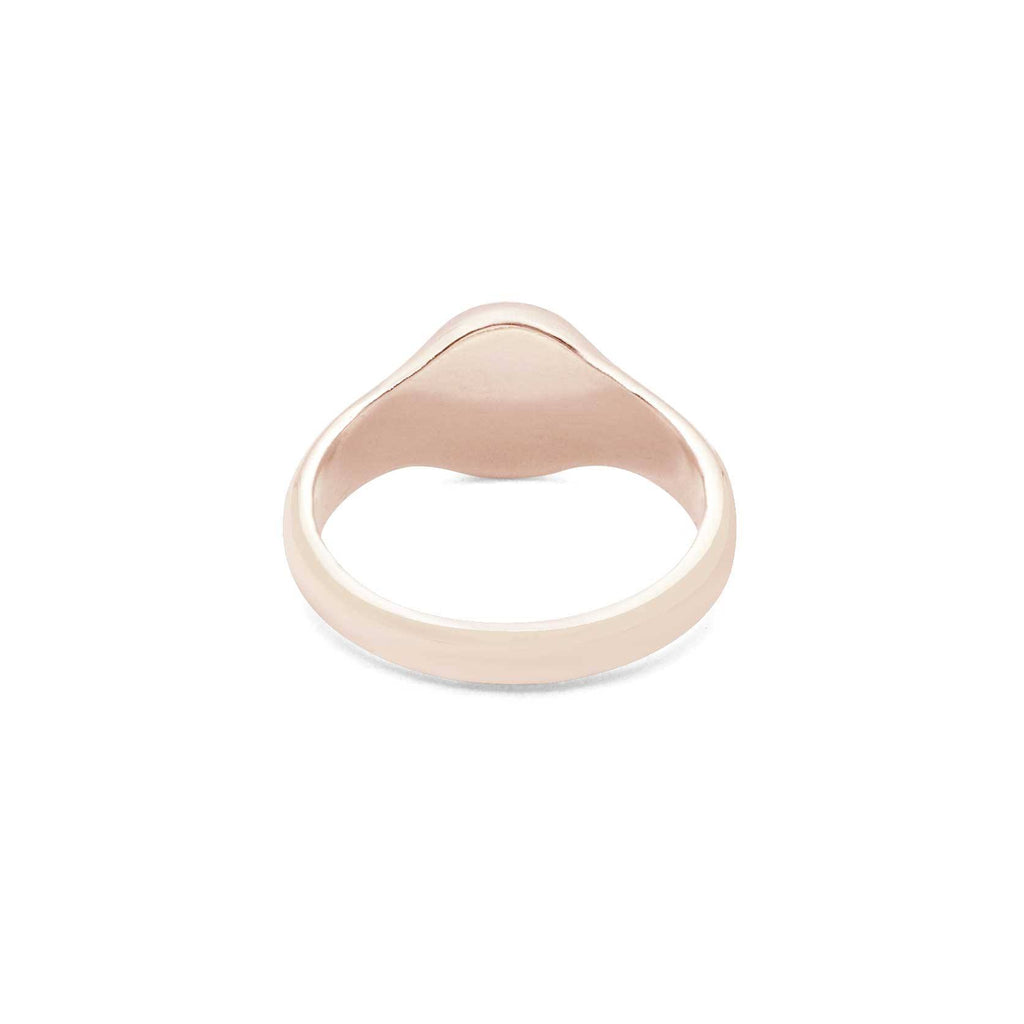 Women Marathon Runner Signet Ring