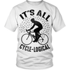 """It's All Cycle-logical"" (Black Print)"