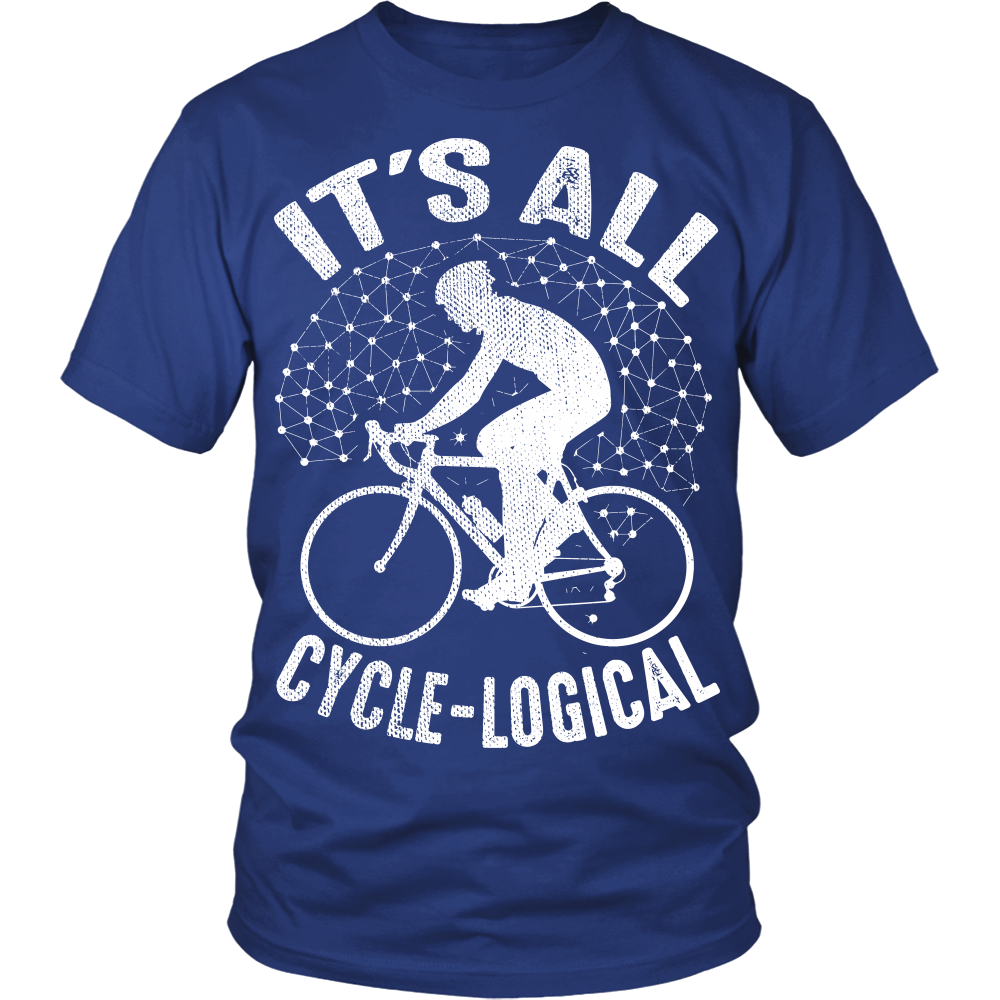 """It's All Cycle-logical"" Shirt"