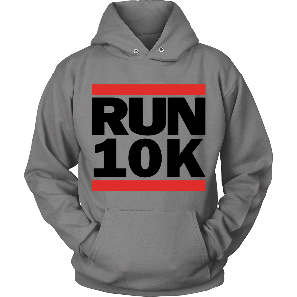 """Run 10K"" Shirt (Black Print)"