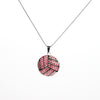 Volleyball Charm Pendant Necklace