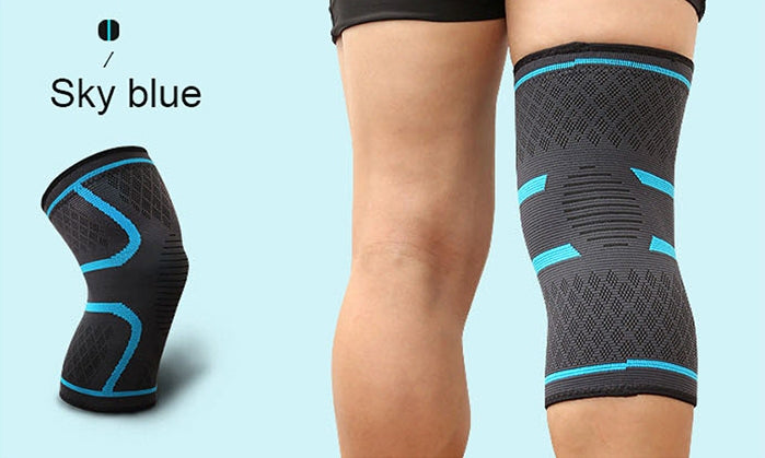 Aolikes Elastic Sport Fitness Compression Kneepad Sleeve