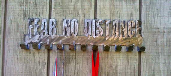 """Fear No Distance"" Medal Display Holder"