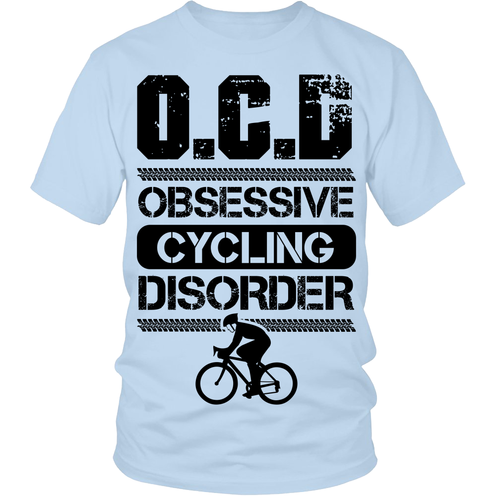 """O.C.D"" Cycling Shirt"