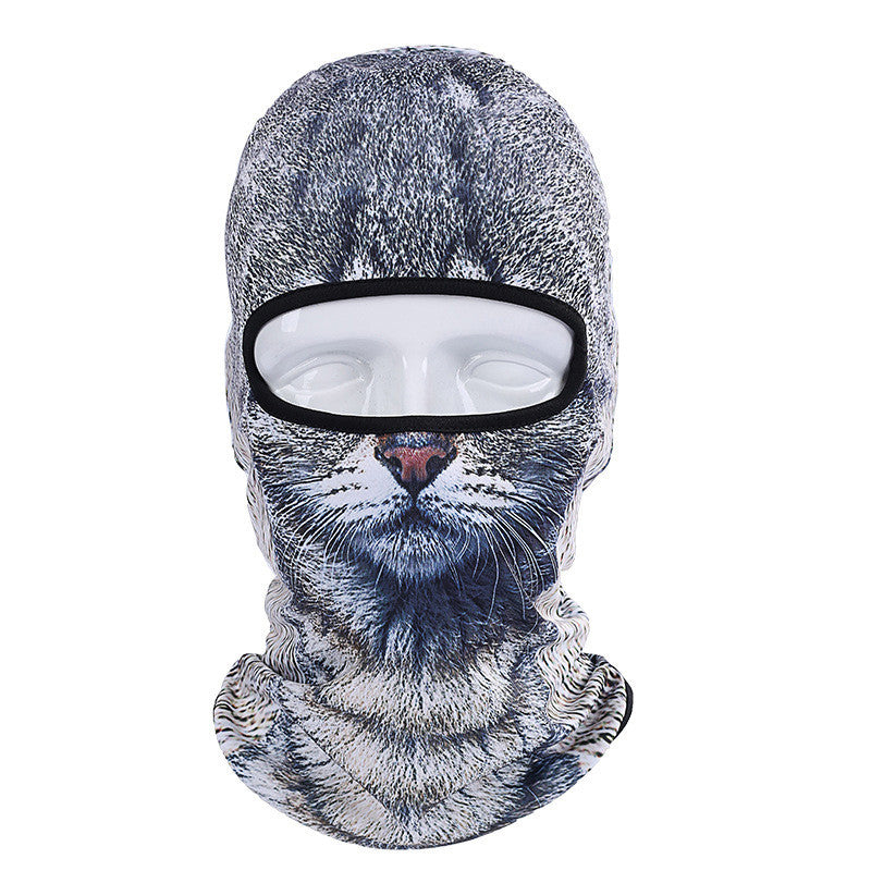 3D Animal Outdoor Face Mask