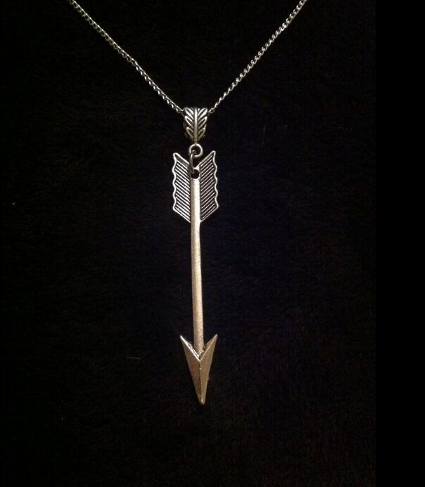 Archery Arrow Spear Necklace