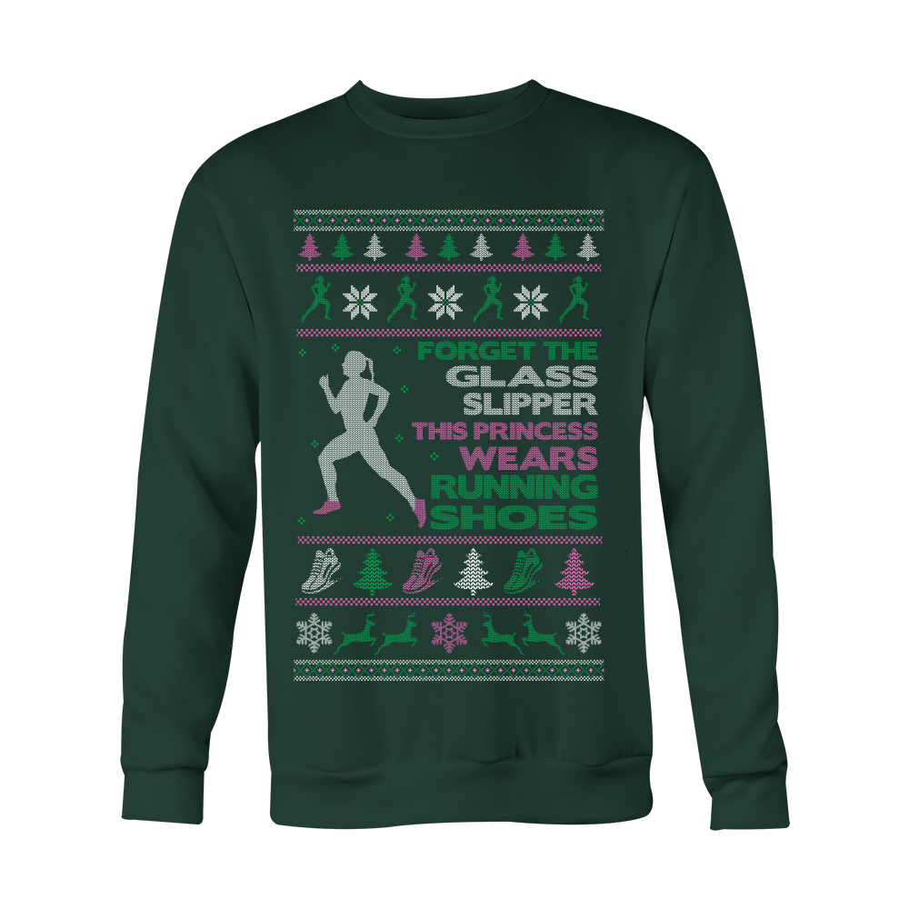 """Princess Running Shoes"" Christmas Sweater"