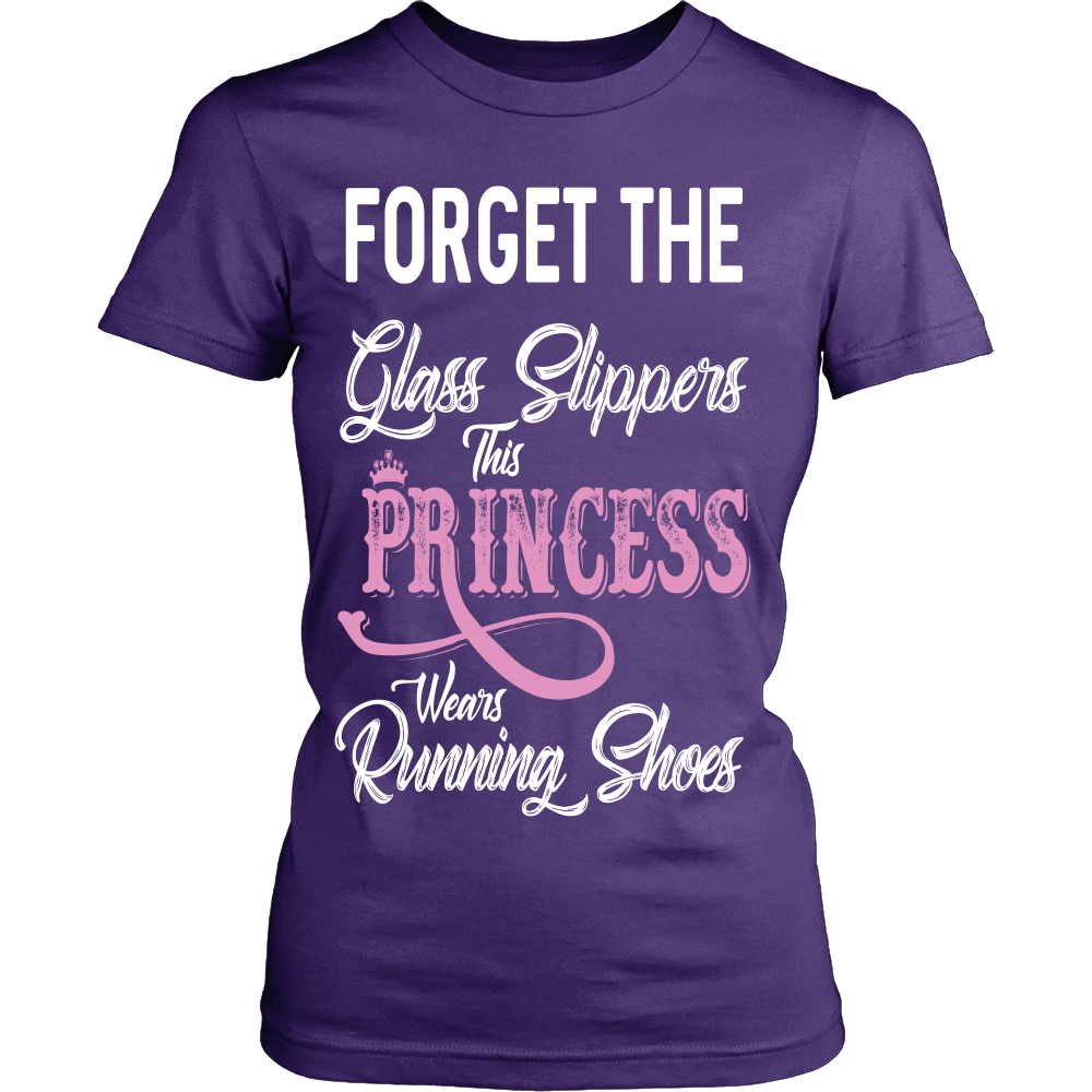 """Princess Wears Running Shoes"" Shirt"