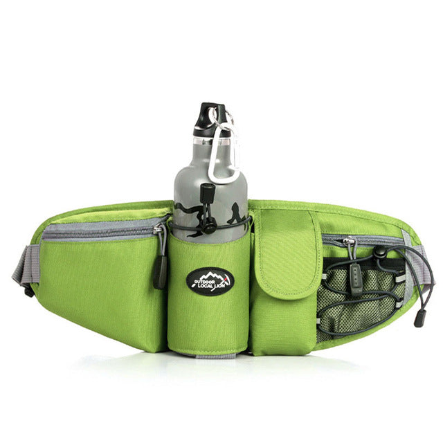 Running Sport Waist Pack Water Bottle Belt