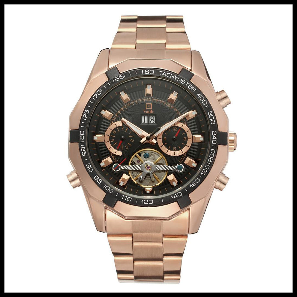 Vault watch - our own brand in gold - luxury watches online