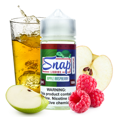 "Snap Liquids - ""The Remix"" Apple Raspberry 100ml"