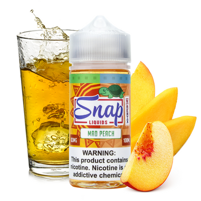 "Snap Liquids - ""The Remix"" Mad Peach 100ml"