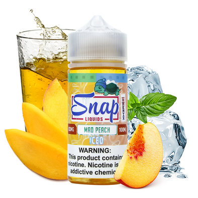 "Snap Liquids - ""The Remix"" Mad Peach Iced 100ml"