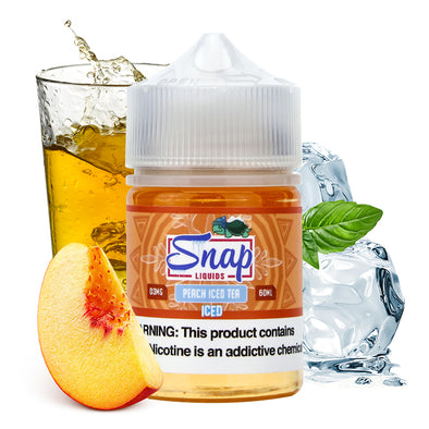 Snap Liquids - Peach Iced Tea Iced 60ml