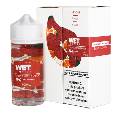 Wet Liquids - Raspberry Orange 100ml