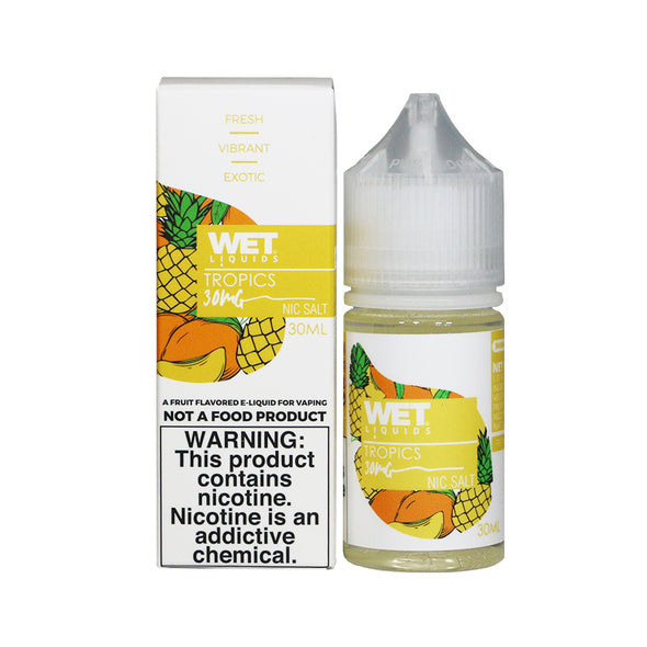 Wet Liquids - Tropics (Nicotine Salt) - 30ml