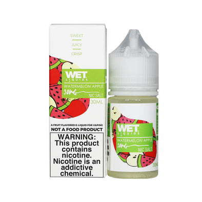 Wet Liquids - Watermelon Apple (Nicotine Salt) - 30ml