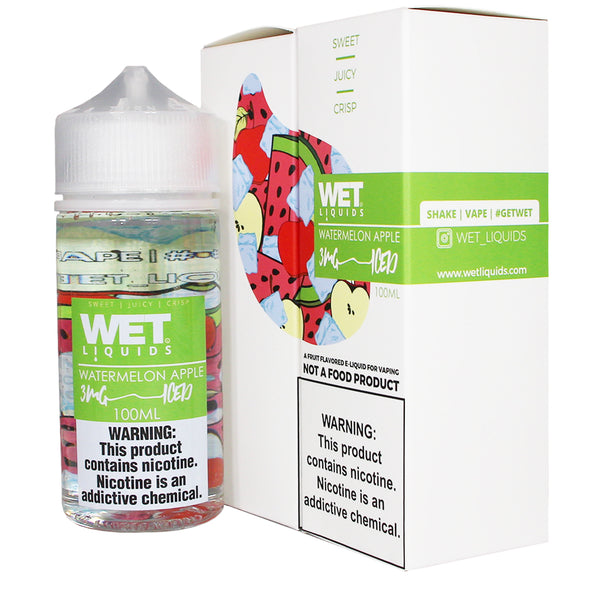 Wet Liquids - Watermelon Apple ICED
