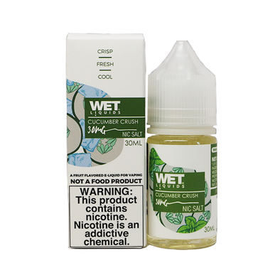 Wet Liquids - Cucumber Crush (Nicotine Salt) - 30ml