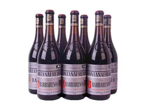 1966 and 1967 Fontanafredda Barolo and 1966 Barbaresco